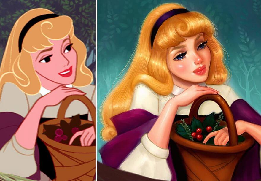 realistic disney princesses 6 (1)