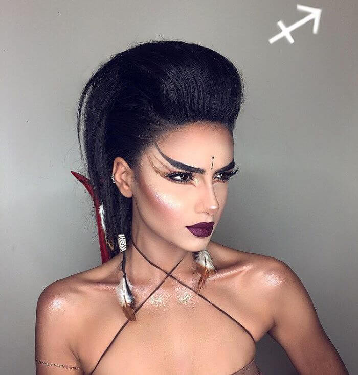 setareh hosseini zodiac signs makeup (1)