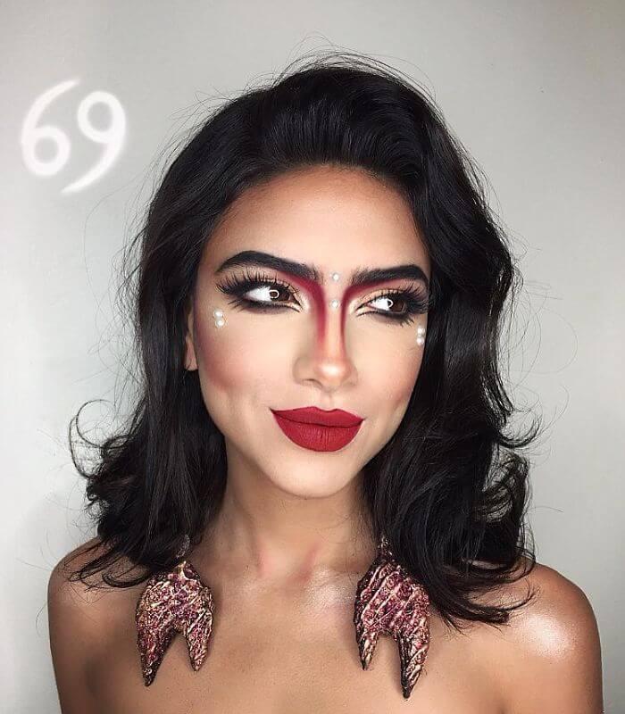 setareh hosseini zodiac makeup 6 (1)