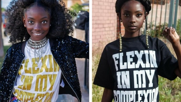 10 year old kid starts empowering clothing line feat