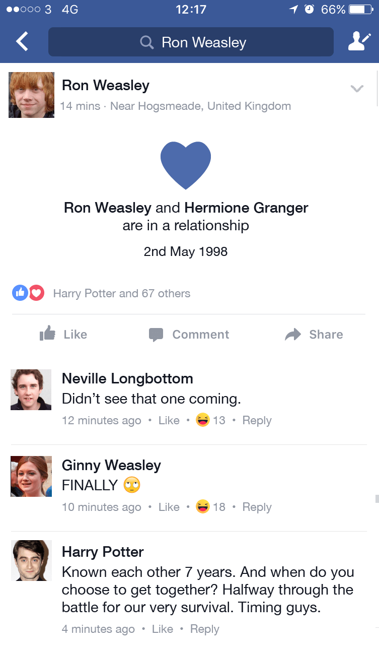 If Harry Potter Characters Had Social Media 4