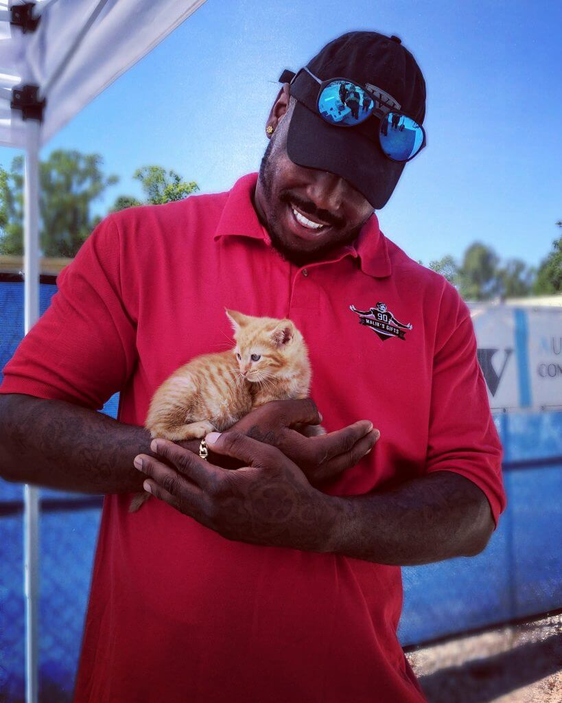 MALIK JACKSON PAYS ADOPTION FEE FOR 181 PETS 2