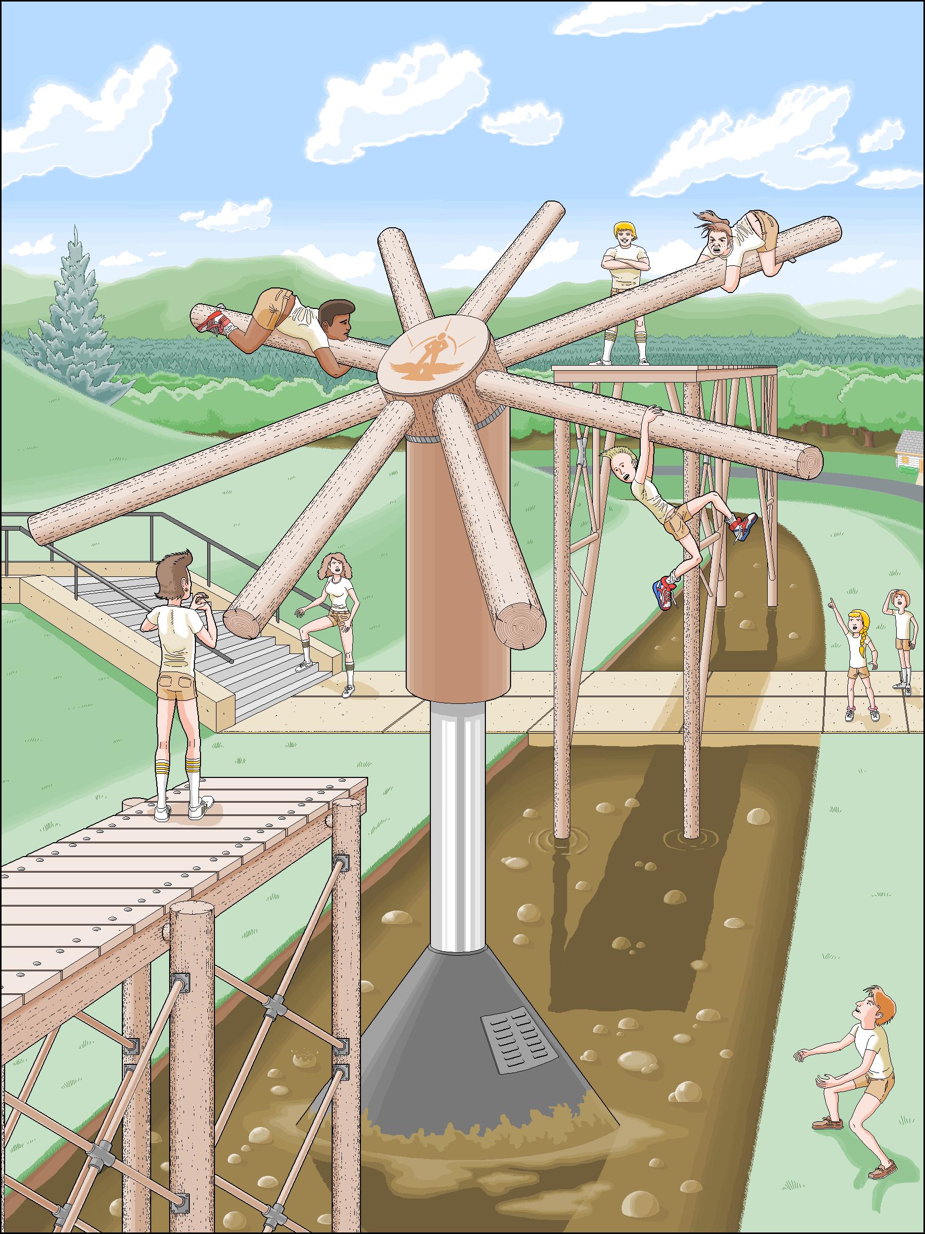 Microsoft Paint children book illustrations 8