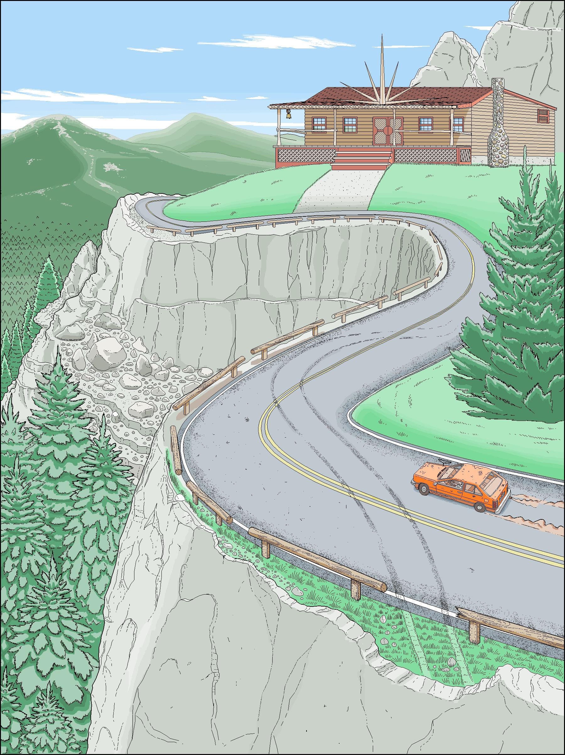 Microsoft Paint children book illustrations