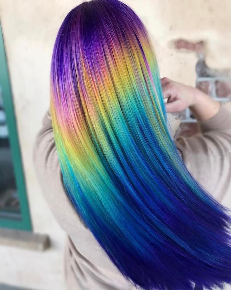 Shine Line hair trend 3