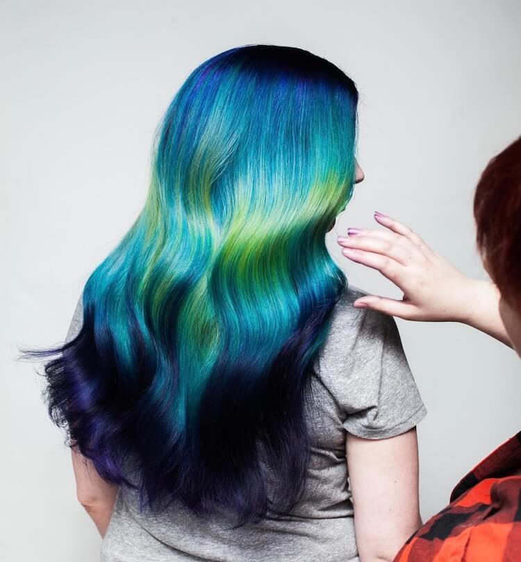 Shine Line hair trend 4