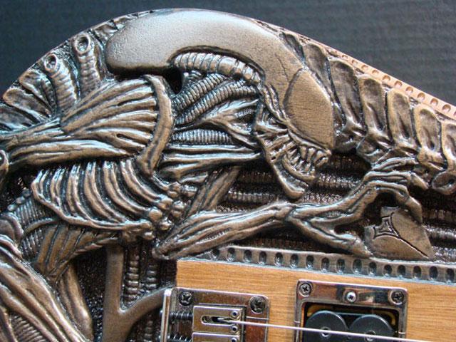 alien electric guitar 2