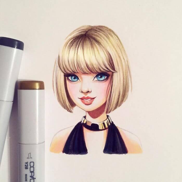 cute cartoon drawings 20