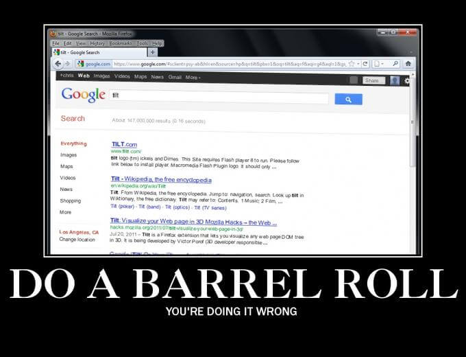 do a barrel roll 3