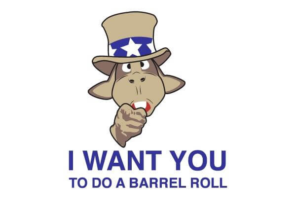 do a barrel roll 4
