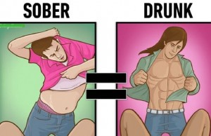 drunk vs sober feat