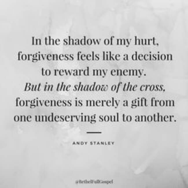 forgiveness words 31