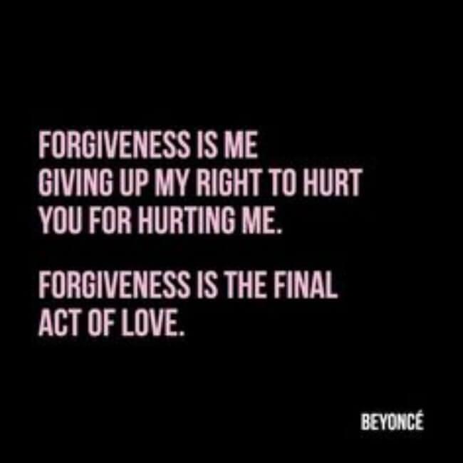 forgiveness sentences 61