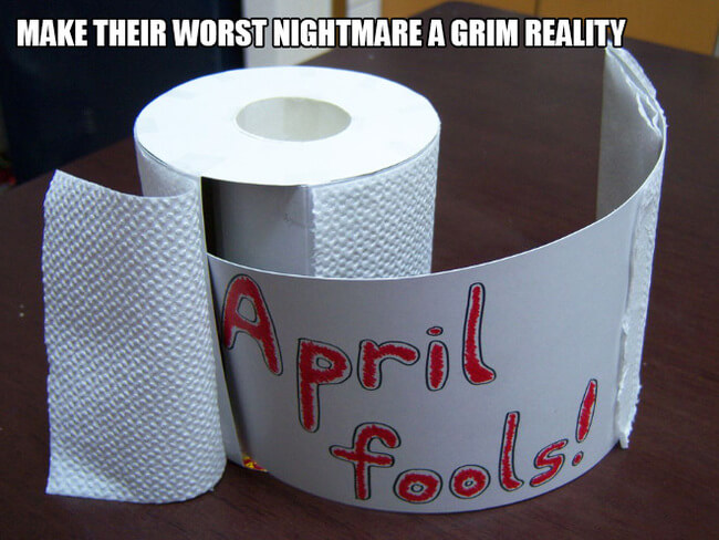 funny pranks april fools 50