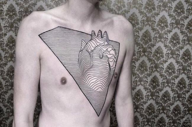 geometrical tattoos 13