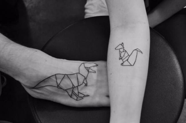 geometrical tattoos 15