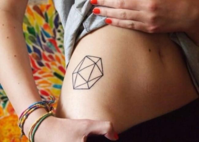 geometrical tattoos 18
