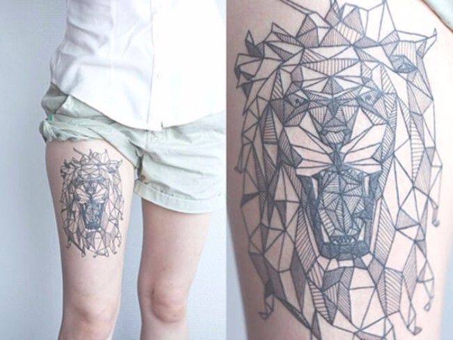 symmetrical tattoos 66