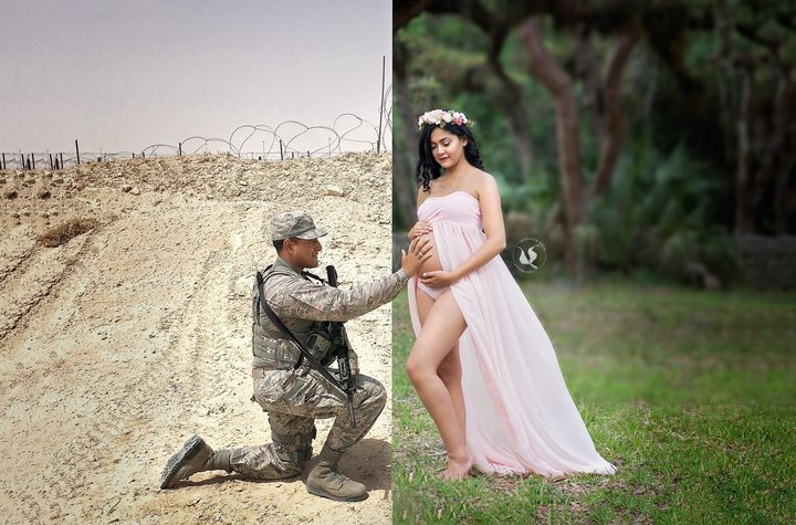 husband and wife maternity images 15