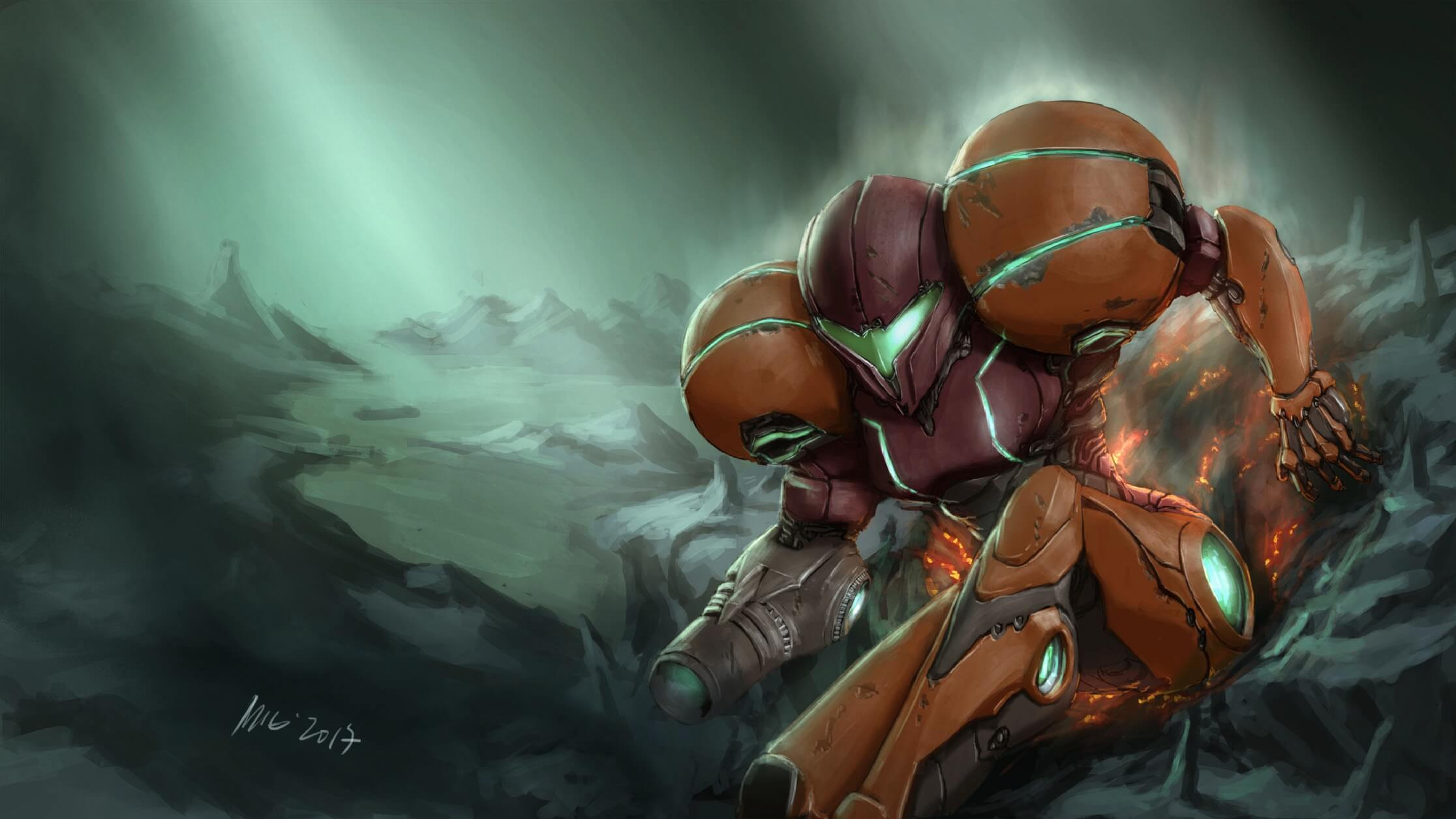 Metroid Fan Illustrations 5