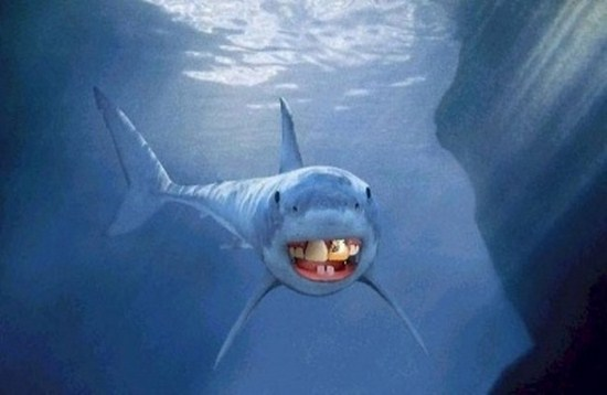 shark with funny teeth 15
