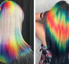shine line hair trend feat