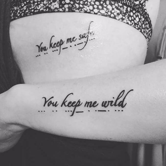 sister tattoo designs 10