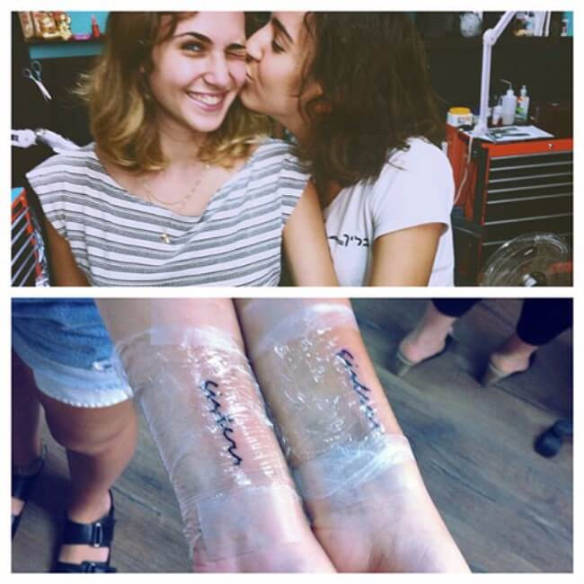 sister matching tattoos 31