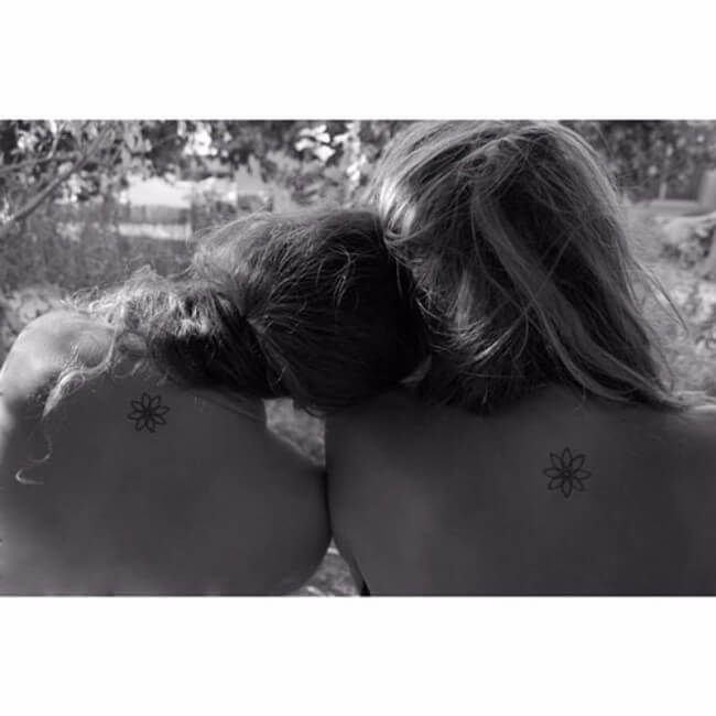 sister matching tattoos 32