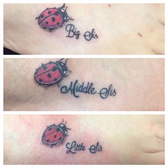 sister matching tattoos 36