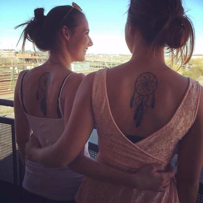 sister tattoo designs 6