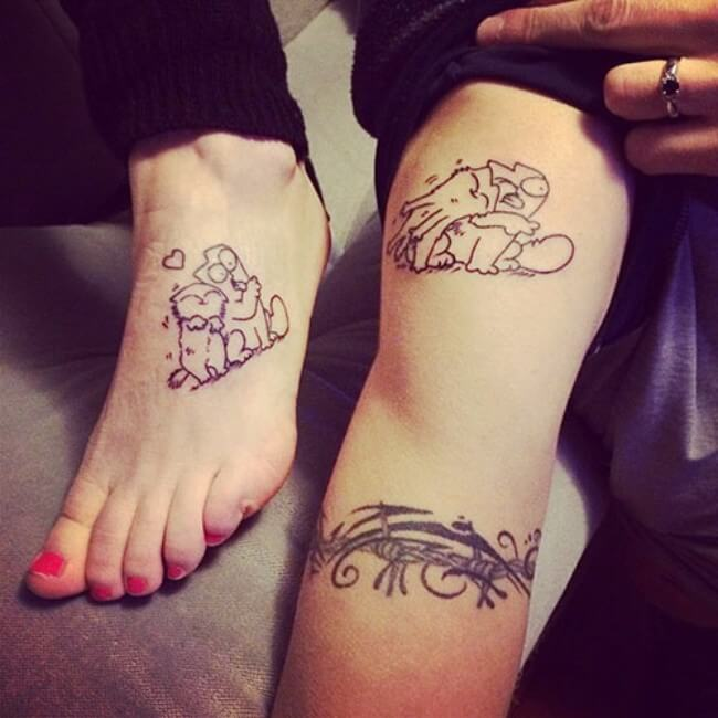 Small Sister Tattoo: 69 Sister Tattoos To Show That Special Bond Between Two