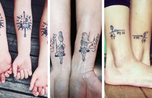 31a6ed732 69 Sister Tattoos To Show That Special Bond Between Two Siblings