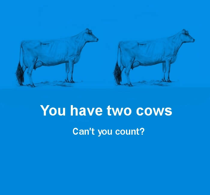 the world economy explained with two cows 25