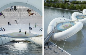 trampoline bridge feat