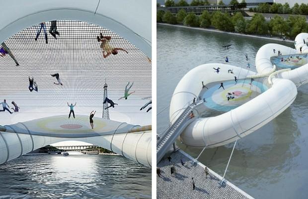 trampoline bridge feat