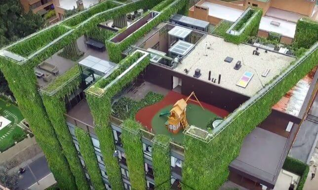 vertical garden building 4