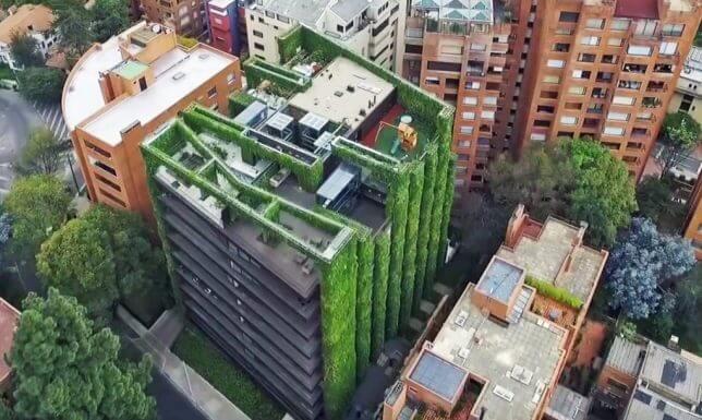 vertical garden building 5