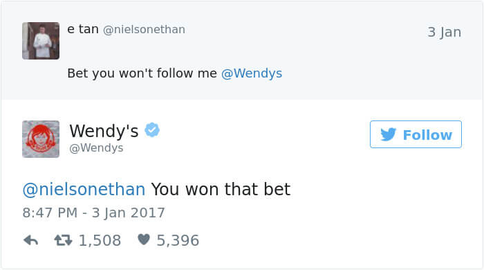 wendys social roasts 15
