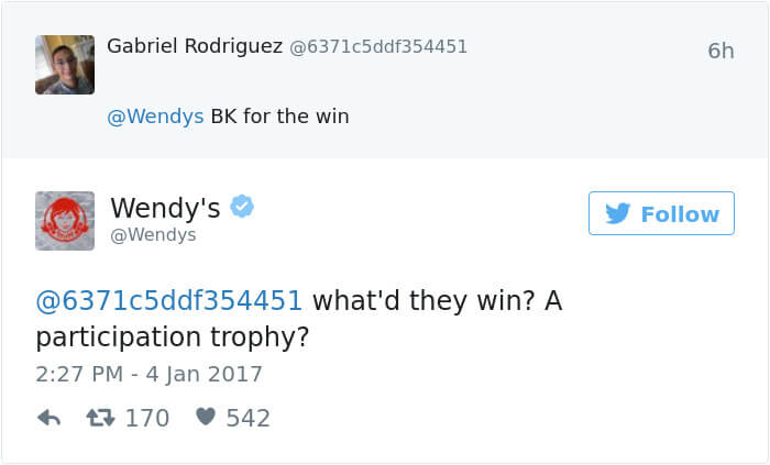 wendys social roasts 16