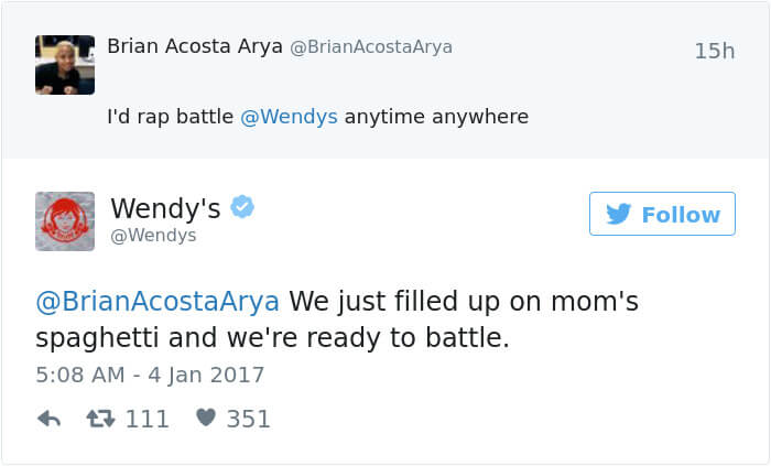 wendys social roasts 17