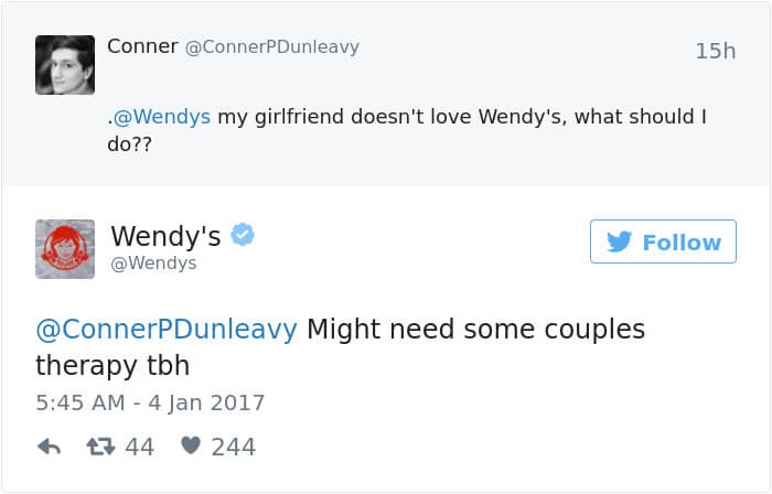wendys social roasts 20