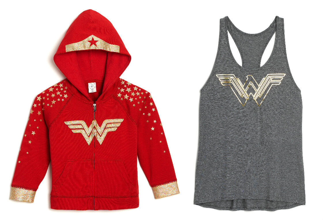 wonder woman fashion