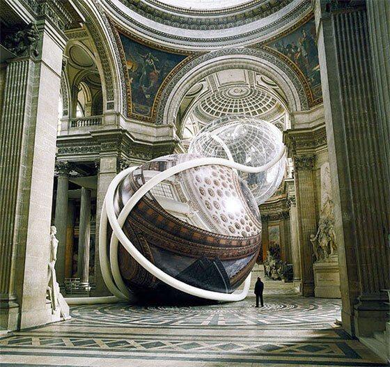 Art installation by Klaus Pinter