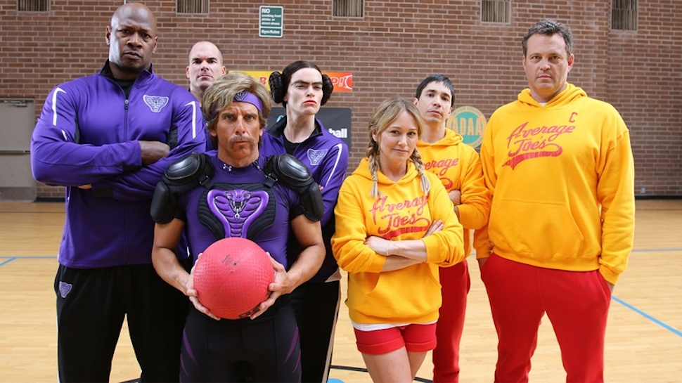 DODGEBALL CAST REUNITES FOR A CHARITY GAME