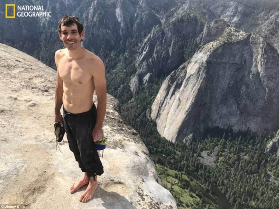 alex honnold el capitan rope free ascent