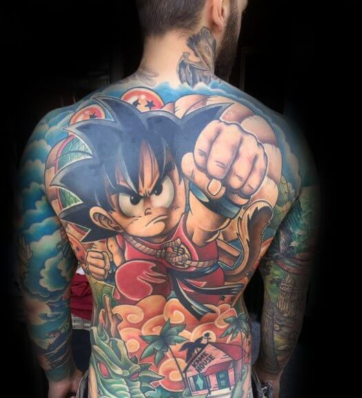 anime tattoos 2