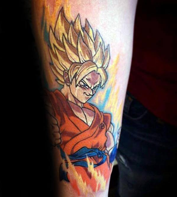 manga tattoos 30