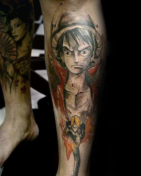 manga tattoos 33
