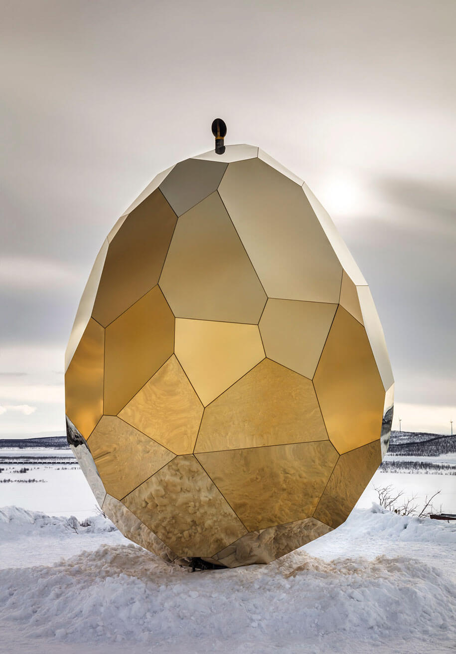 arctic golden egg